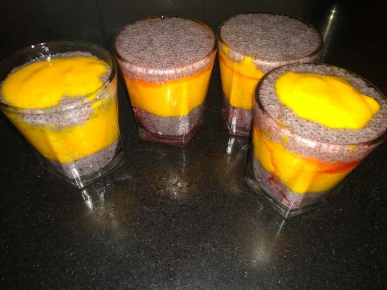 Mango Shake with Subja Seed
